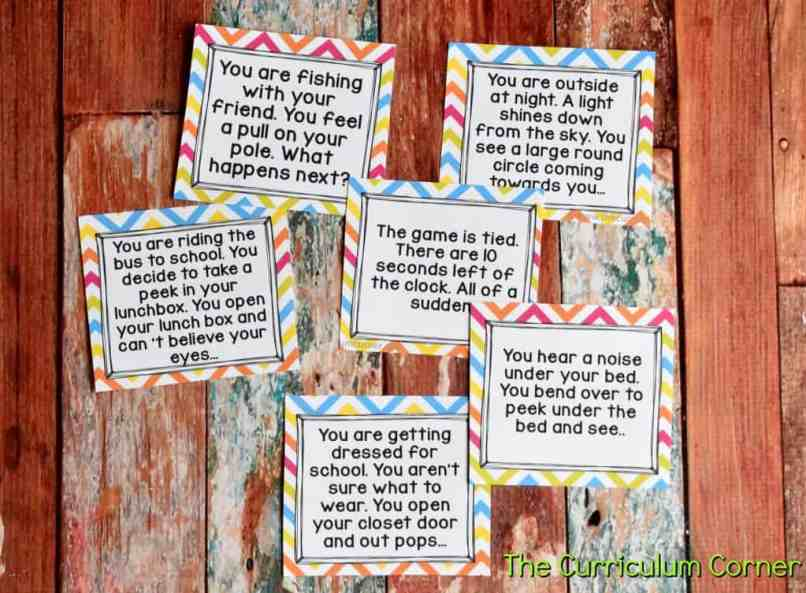 Strategies for Reluctant Writers with FREE Printables from The Curriculum Corner 6