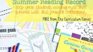Summer Reading Record