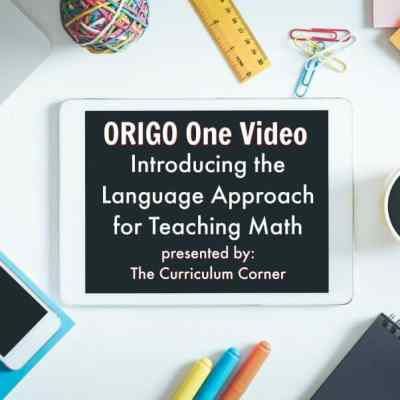 ORIGO 1 Video: Language in Math