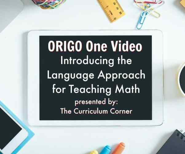 ORIGO One Introducing the Language Approach for Teaching Math 1 Minute Video