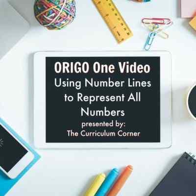 ORIGO 1 Video: Using Number Lines