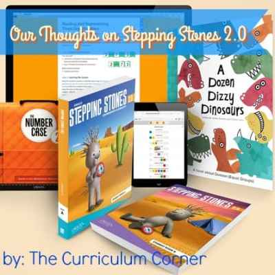 Our Thoughts on Stepping Stones 2.0 from The Curriculum Corner