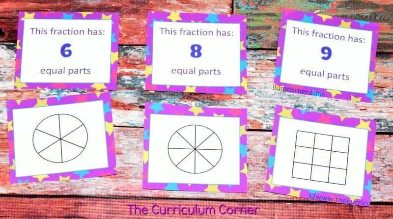 Understanding Fractions FREE from The Curriculum Corner | practice pages, assessments,exit tickets, instructional powerpoint 6