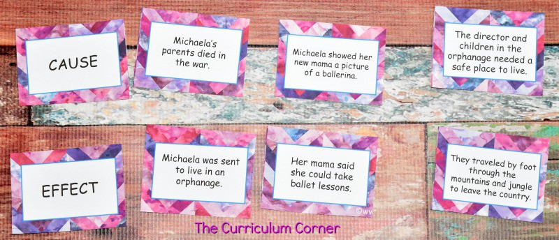 FREE Book Study Ballerina Dreams about Michaela DePrince from The Curriculum Corner 5