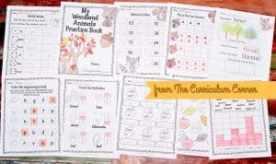 FREE Woodland Animals Print & Go Pages from The Curriculum Corner