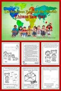 FREE Celebrations Around the World: Chinese New Year booklet from The Curriculum Corner