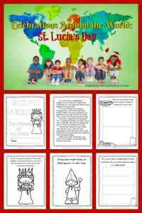 This St. Lucia's Day booklet is designed to help you in a December celebration of holidays around the world. FREE from The Curriculum Corner 1