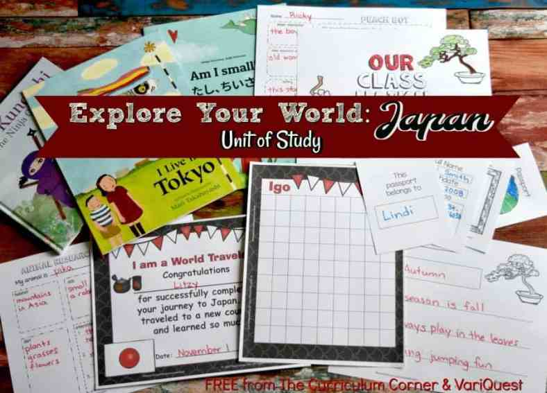 Introduce your students to another country with this complete Japan Unit of Study.