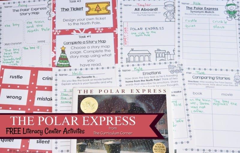 Book Study The Polar Express The Curriculum Corner 123