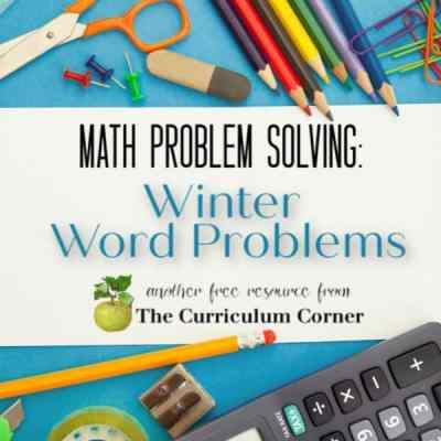 Winter Problem Solving (2nd Grade)