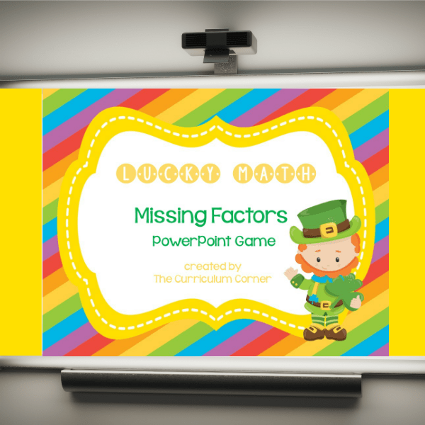 St. Patrick's Day PowerPoint Game Feature
