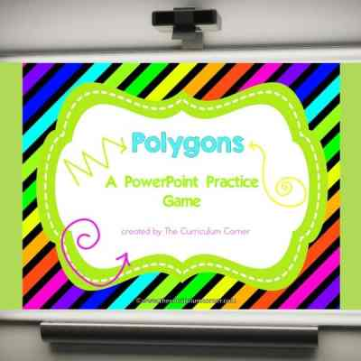 Polygon Geometry Game (PowerPoint)