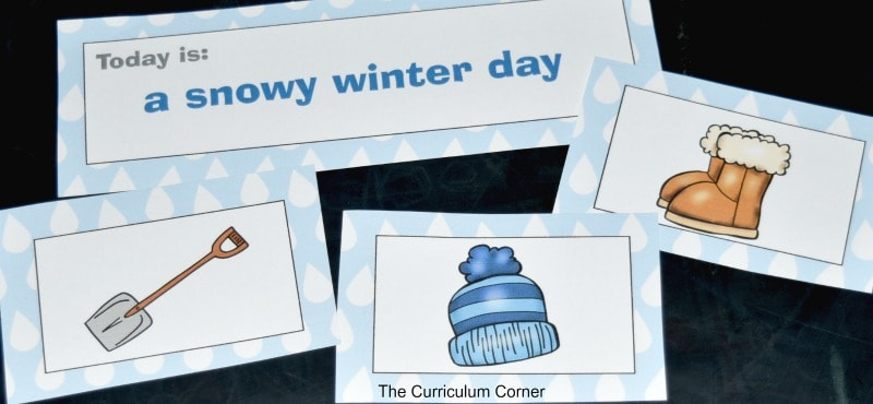 FREE Weather Centers from The Curriculum Corner 4
