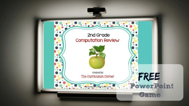 This 2nd Grade Computation Review Game is designed to give your students practice with second grade standards throughout your unit of study.