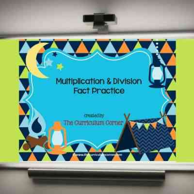 Camping Multiplication & Division PowerPoint Game