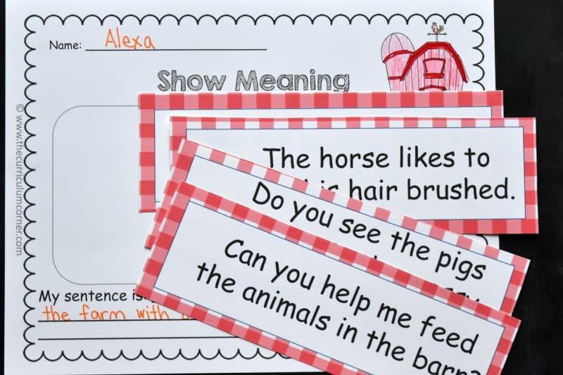 farm word work