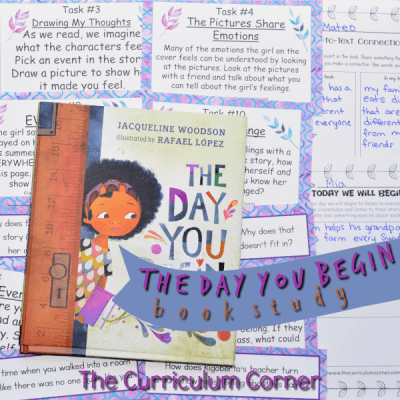 Book Study: The Day You Begin