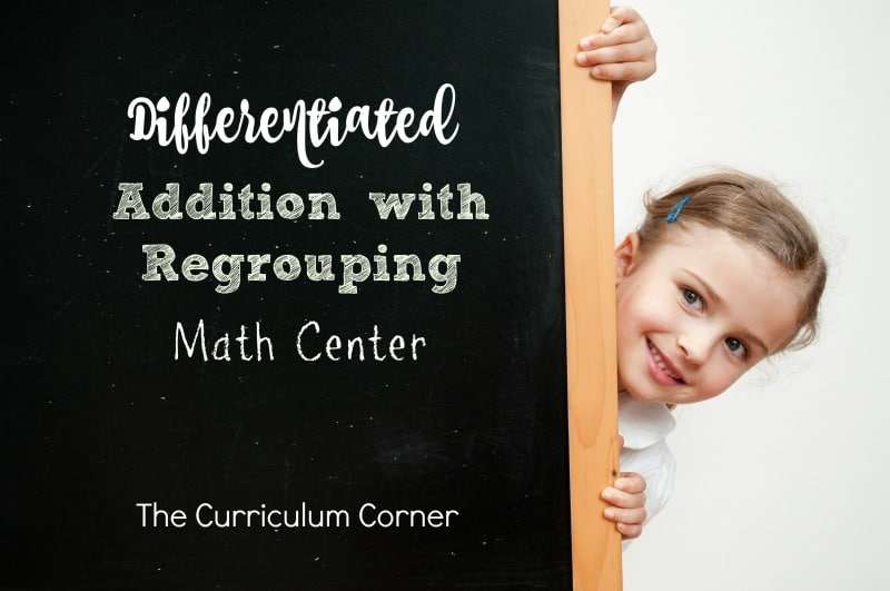 This set of resources is meant to provide materials to help you differentiate your students' addition with regrouping practice during centers.
