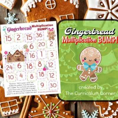 Gingerbread Multiplication Bump Games