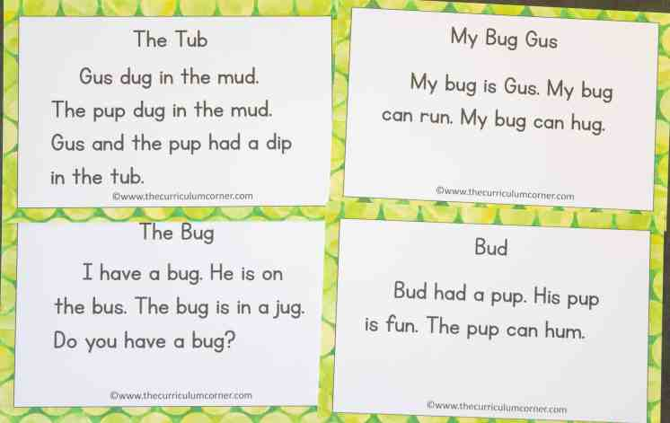 This free set of short u fluency passages can be used for your students focusing on vowel sounds during reading instruction. 2