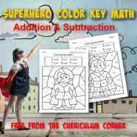 Superhero Color Key Addition