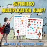 Superhero Multiplication BUMP!