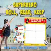 Superhero Roll, Read, Keep