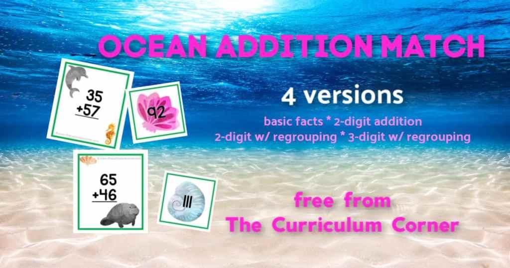 ocean addition match