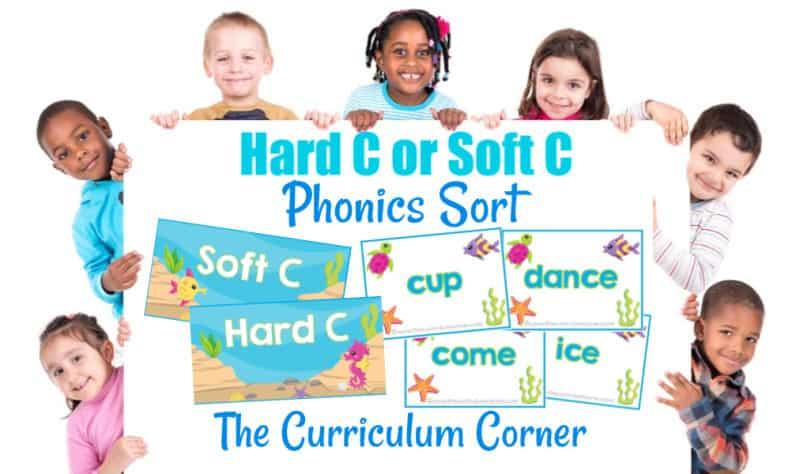 Hard C & Soft C Phonics Sort