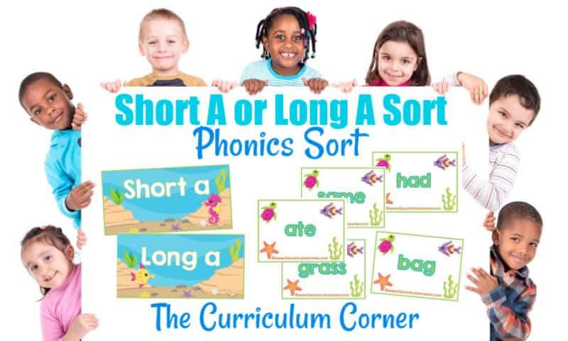 Short a Long a sort
