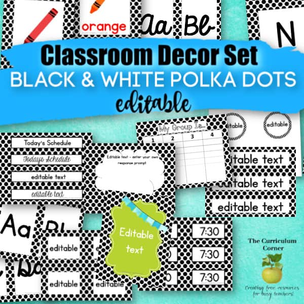 picture about Printable Classroom Labels identified as Table Nametags Clroom Labels - The Curriculum Corner 123