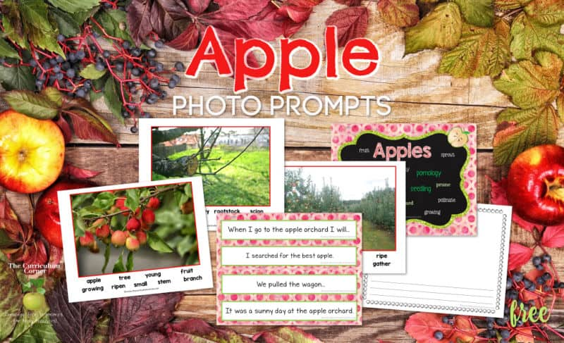 apple photo prompt set