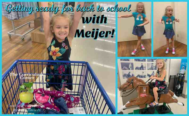 back to school with Meijer