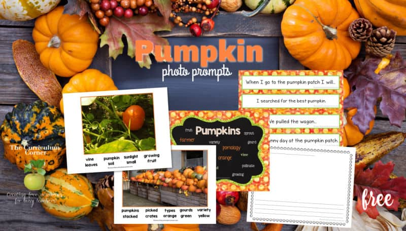 pumpkin photo prompts