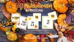 Fall Multiplication Match