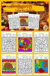 Thanksgiving Color Key Division