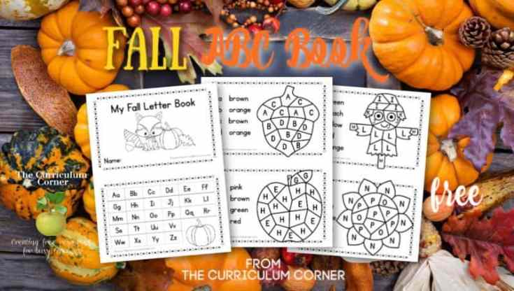 Fall ABC Booklet