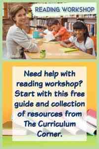 How to start readers' workshop