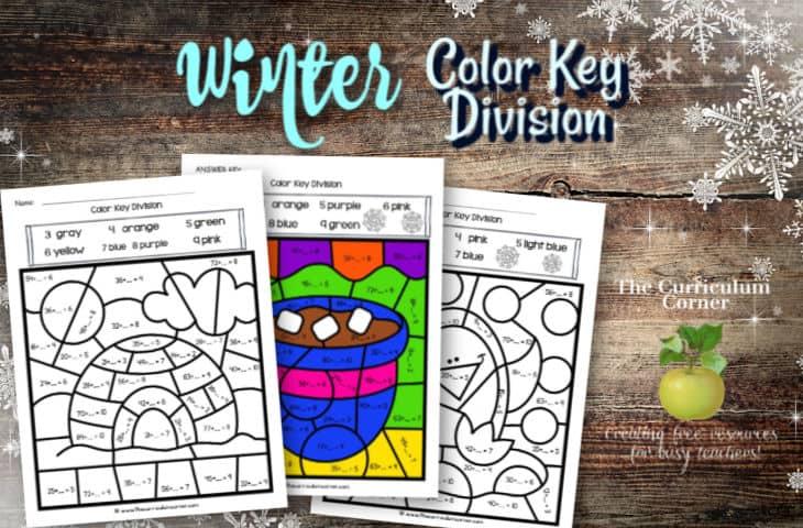 Winter Color Key Division