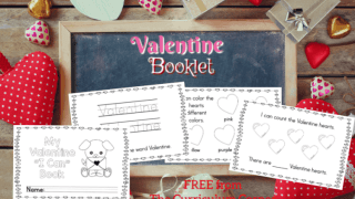 """Simple Valentine """"I Can"""" Booklet"""