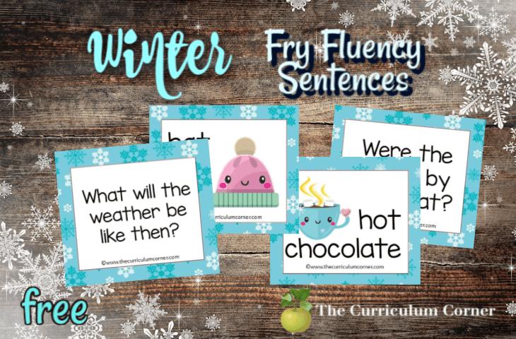 Winter Fry Fluency Sentences