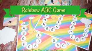 Rainbow Alphabet Game