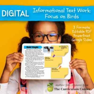 Digital Informational Text: Birds