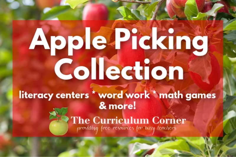Looking to add to your apple picking collection in the classroom? Start with these from set of resources.