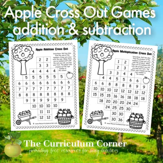 Apple Cross Out Games