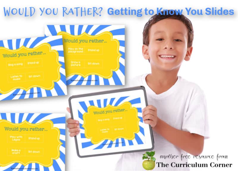 Try this virtual would you rather introduction activity to get to know your students during distance learning.