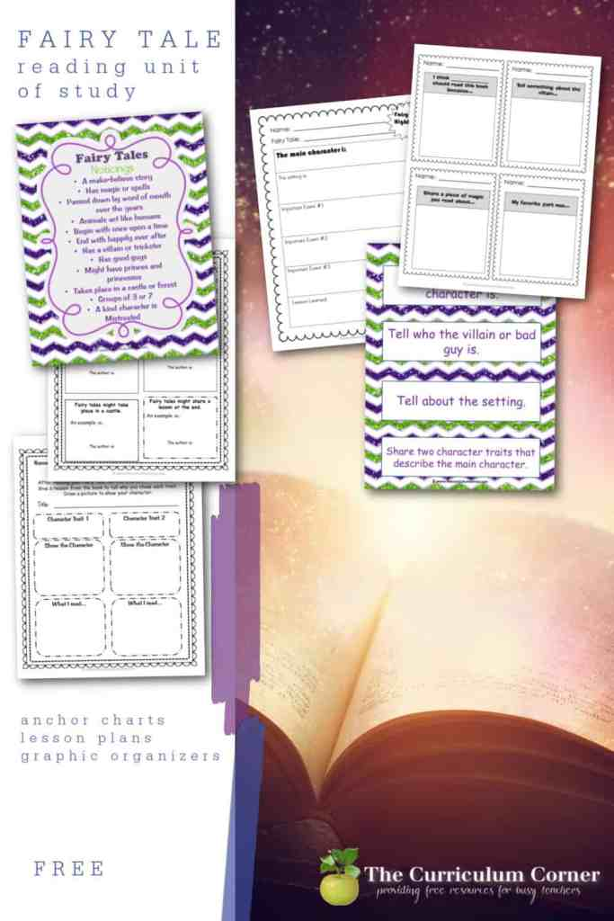 This fairy tale unit of study is a free unit of study you can add to your reading workshop.