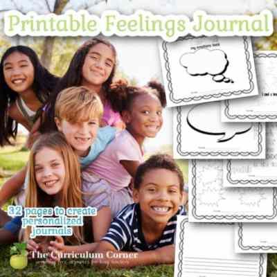 Printable Feelings Journal
