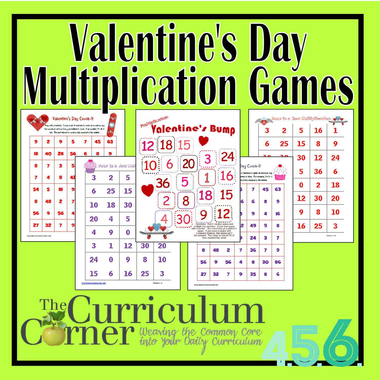 Valentine S Day Multiplication Games