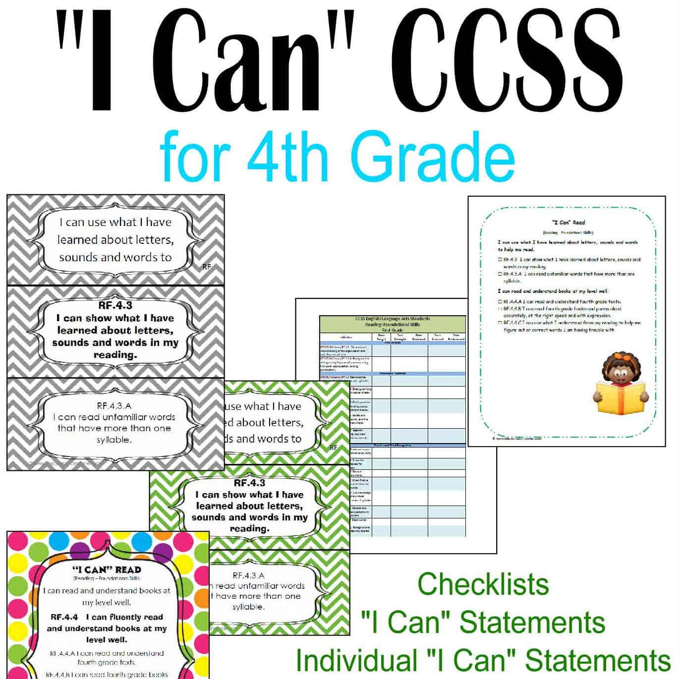 Everything I Can Common Core For 4th Grade